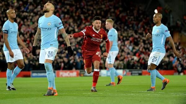 Gol del Liverpool al Manchester City