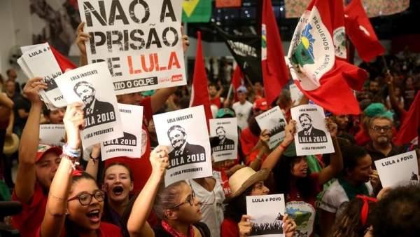 Simpatizantes de Lula