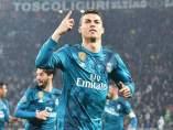 Cristiano Ronaldo, en el Juventus Stadium