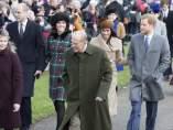 Duque de Edimburgo Príncipe Felipe familia real inglesa