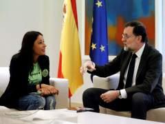 Las Kellys con Mariano Rajoy