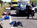 Atropello de ciclistas en Mallorca