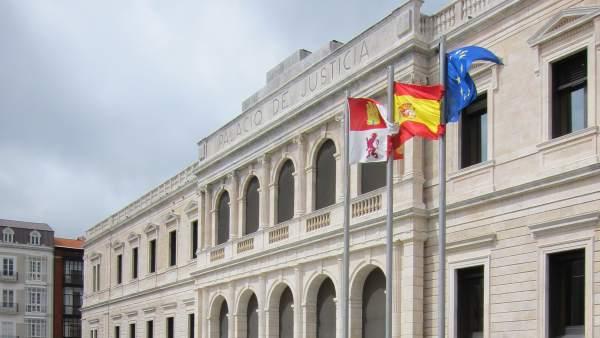 Sede del Trubunal Superior de Justicia de Castilla y León.