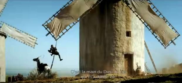 La información sobre el nuevo contratiempo del Quijote de Gilliam es falsa, según los productores del filme