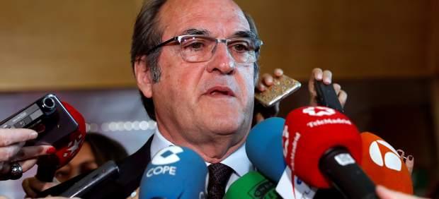 El portavoz socialista en la Asamblea de Madrid, Ángel Gabilondo.