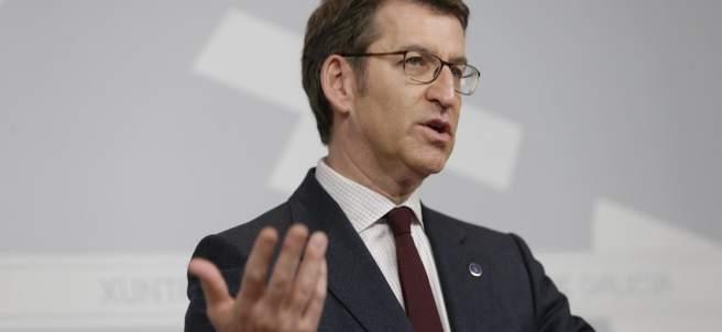 El presidente de la Xunta de Galicia, Alberto Núñez Feijó.