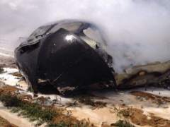 Accidente del A400M en Sevilla en 2015 en el que murieron cuatro personas