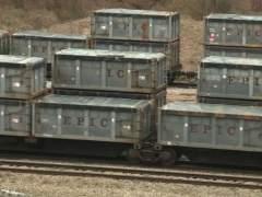 Vagones de tren con heces humanas en Alabama