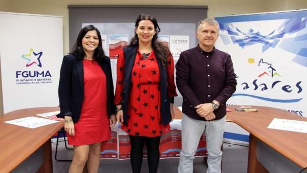 Presentación de unas jornadas medioambientales de la UMA en Casares