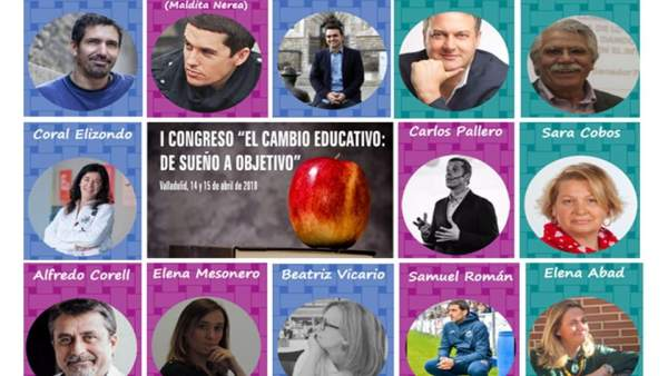 Cartel del I Congreso de Cambio Educativo