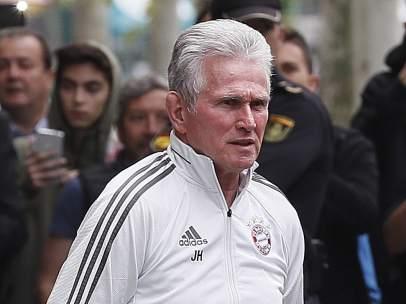 Jupp Heynckes, entrenador del Bayern de Múnich.