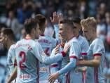 Iago Aspas saca los colores al Sevilla y el Betis lo aprovecha