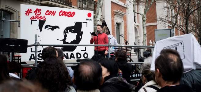 El hermano del cámara José Couso