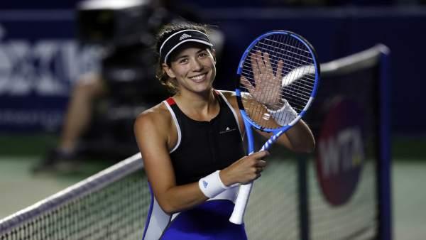Garbiñe Muguruza WTA Monterrey