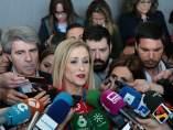 Cristina Cifuentes en la convención del PP en Sevilla