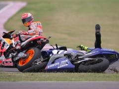 """Márquez, sobre la paz con Rossi: """"No depende de mí. ¿Qué más puedo hacer?"""""""