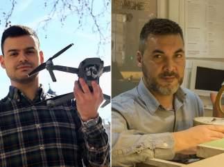 Piloto de drones y relojero