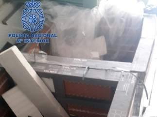 Ocho toneladas de hachís interceptadas en Almería