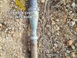 Granada hallada por un vecino de Toro.