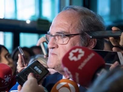 Ángel Gabilondo, portavoz socialista en la Asamblea de Madrid.