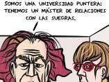 Universidades. Viñeta de Superantipático