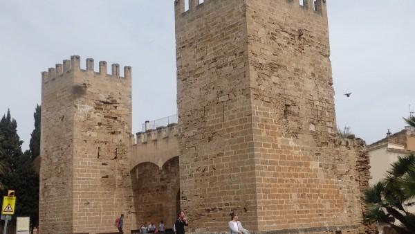 Alcudia, localidad situada al norte de Mallorca