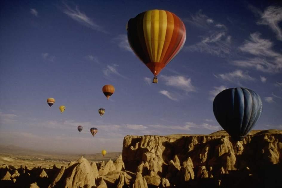 Globos aerostáticos para disfrutar de Capadocia