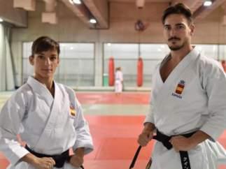 Damián Quintero y Sandra Sánchez.