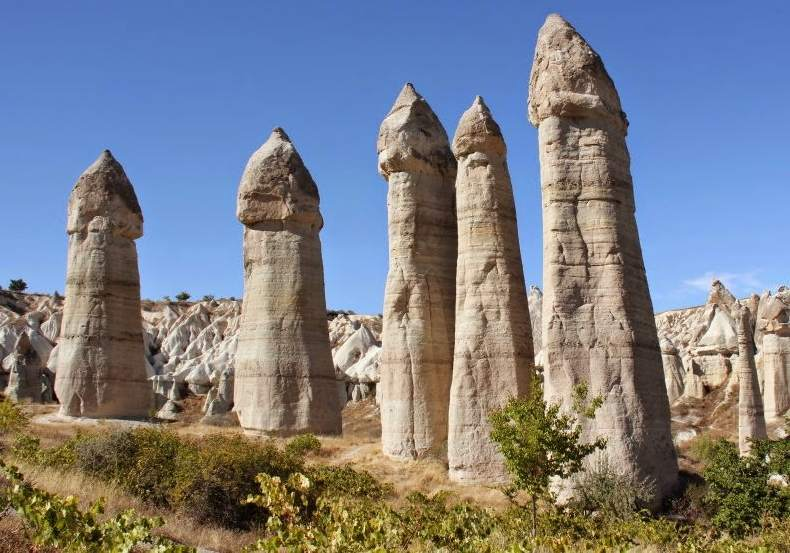 'Chimeneas de Hadas' en Capadocia.