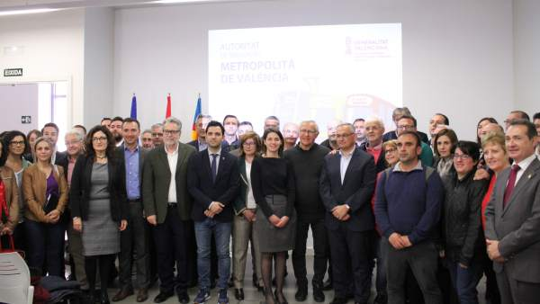 Reunión de alcaldes del área metropolitana de València