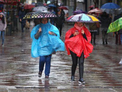 Primavera lluviosa en Madrid