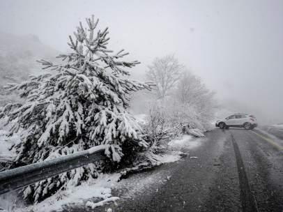 Nieve en Galicia