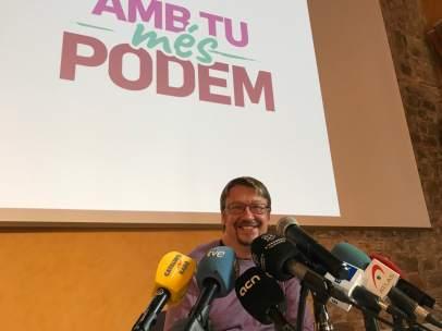 ARCHIVO / Xavier Domènech presenta su candidatura a liderar Podem