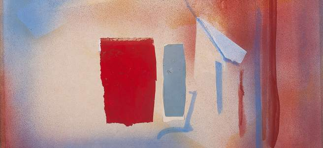 Sin título, 1988. Esteban Vicente.