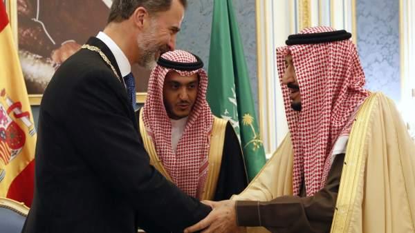 Visita del rey a Arabia Saudí