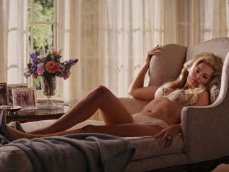 Margot Robbie en 'El lobo de Wall Street' (2013)