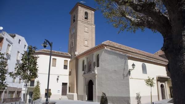 Iglesia de la Inmacuulada de Dúrcal (Granada)