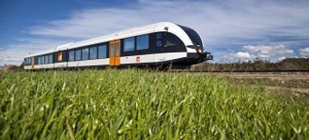 Tren de FGC entre Lleida y La Pobla de Segur
