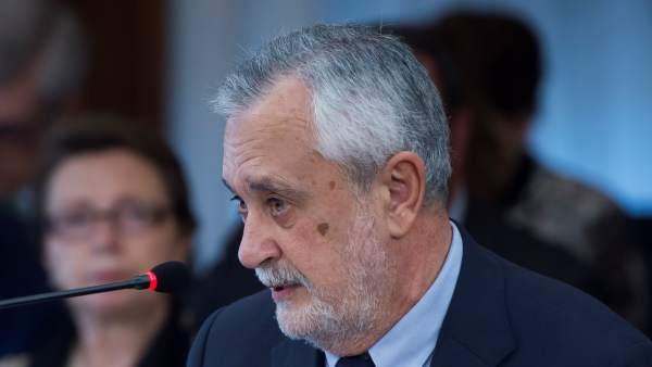 José Antonio Griñán juicio de los ERE