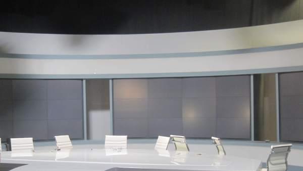 Estudios de Canal 9 vacíos tras el cierre de RTVV
