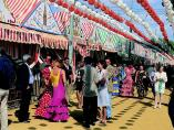 Imagen de la Feria de Abril de Sevilla