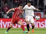 James y Banega, Bayern - Sevilla