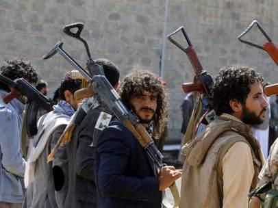 Hutíes, Yemen