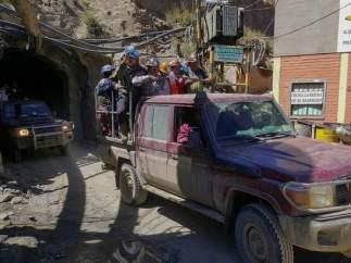 Explosión en una mina de Bolivia