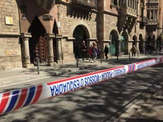 Registro de la sede del Diplocat en Barcelona.
