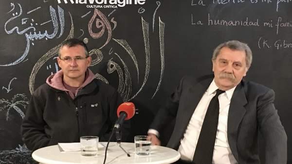 El presidente de la Plataforma y el abogado Fernando Merodio