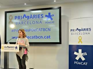 La presidenta de la veguería de Barcelona del PDeCAT, Mercè Homs.