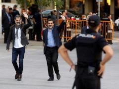 Amnistía Internacional pide de nuevo la libertad para 'los Jordis', que cumplen hoy un año en prisión
