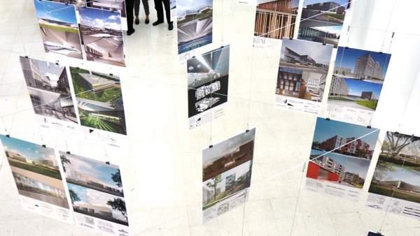 Una exposici n re ne en la uma una selecci n de obras y proyectos del arquitecto navarro - Ets arquitectura malaga ...