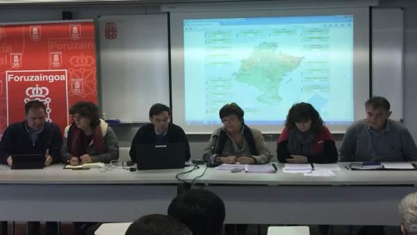 Gobierno De Navarra Coordina Con Los Municipios Del Eje Del Ebro